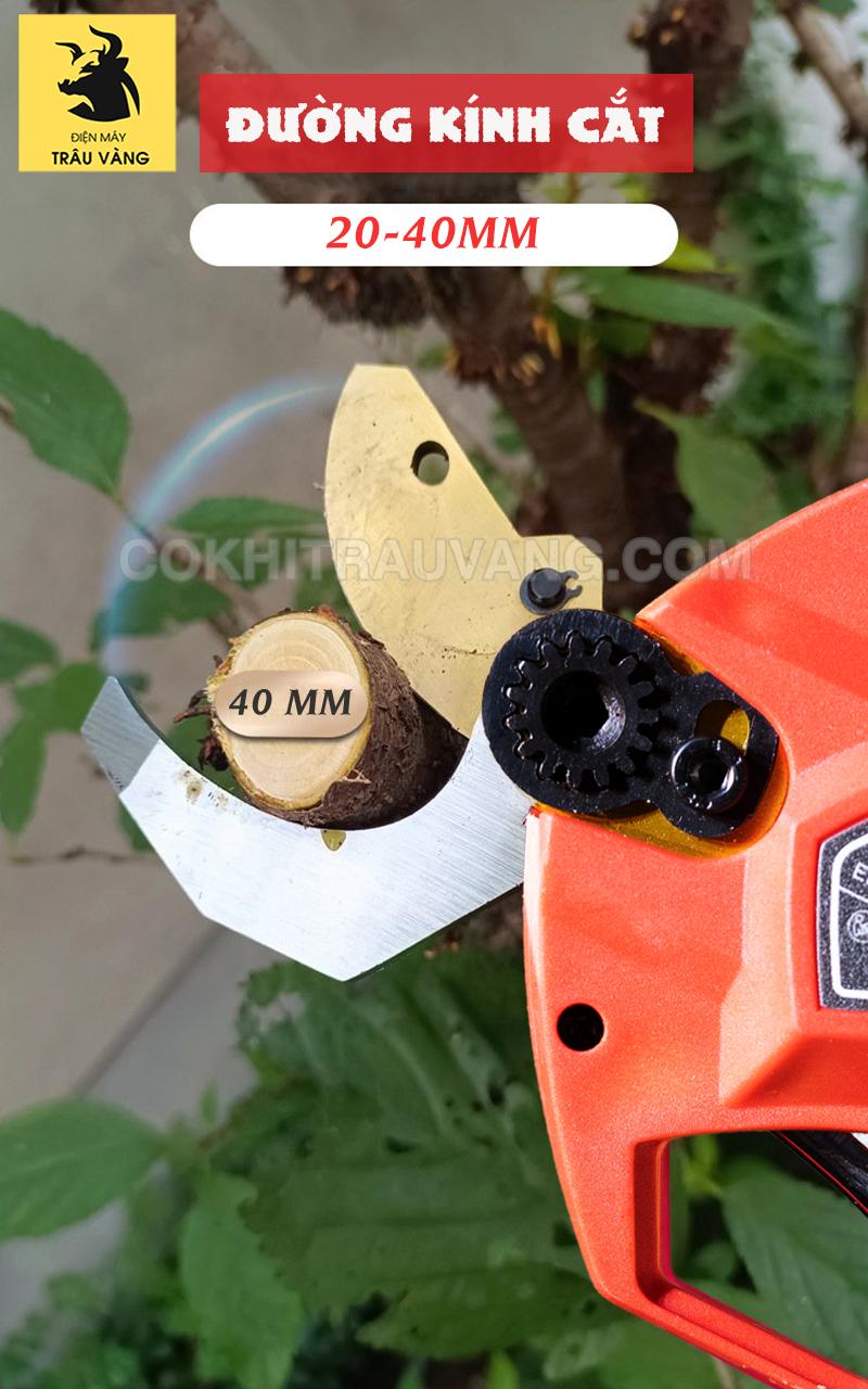 lưỡi kéo Máy cắt cành dùng pin 21V
