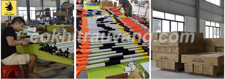 sản xuất kéo cắt cành trên cao bằng pin