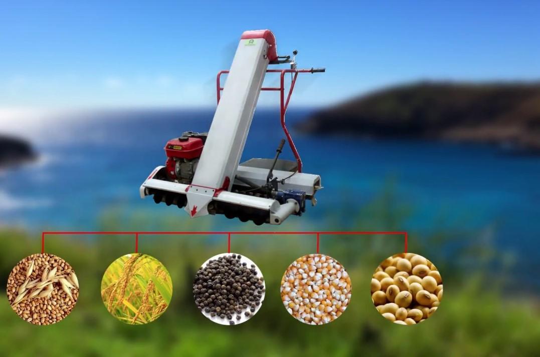 Máy hút hạt thóc vào bao tải